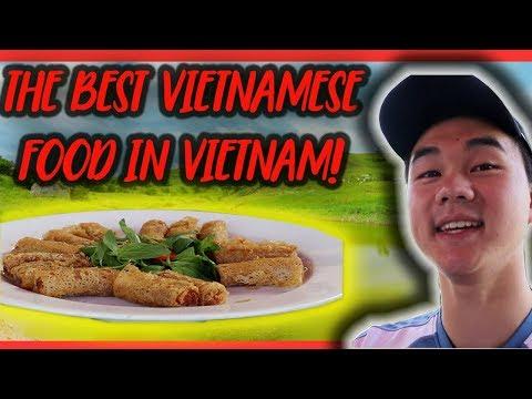 Eating Vietnamese FOOD!   VIETNAM TRAVEL VLOG #2.5