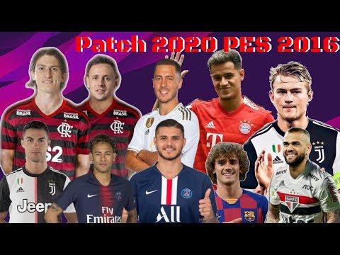 PES 16 - PATCH ATUALIZADO NOVEMBRO 2019 PC.