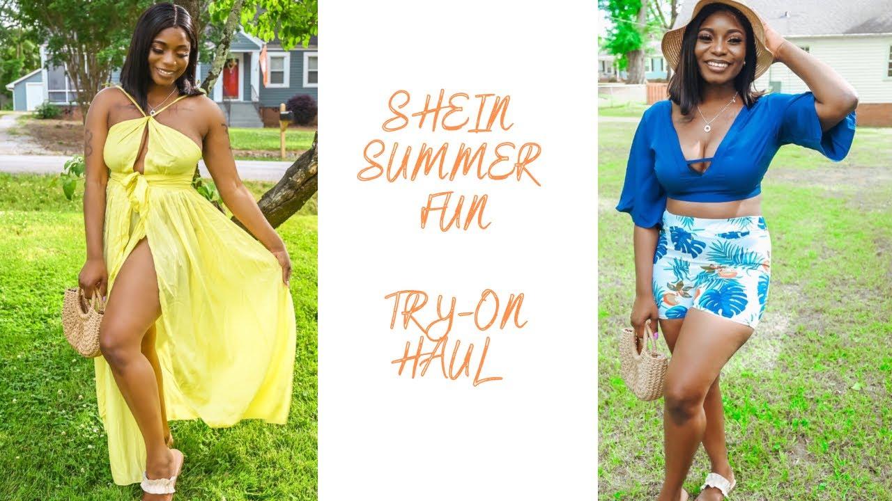 SHEIN SUMMER FUN TRY ON HAUL 2021 *CURVY WOMEN* #SHEIN #SUMMER #HAUL