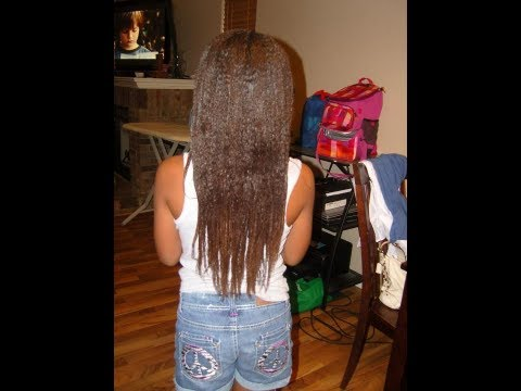 My daughter's long/healthy hair journey