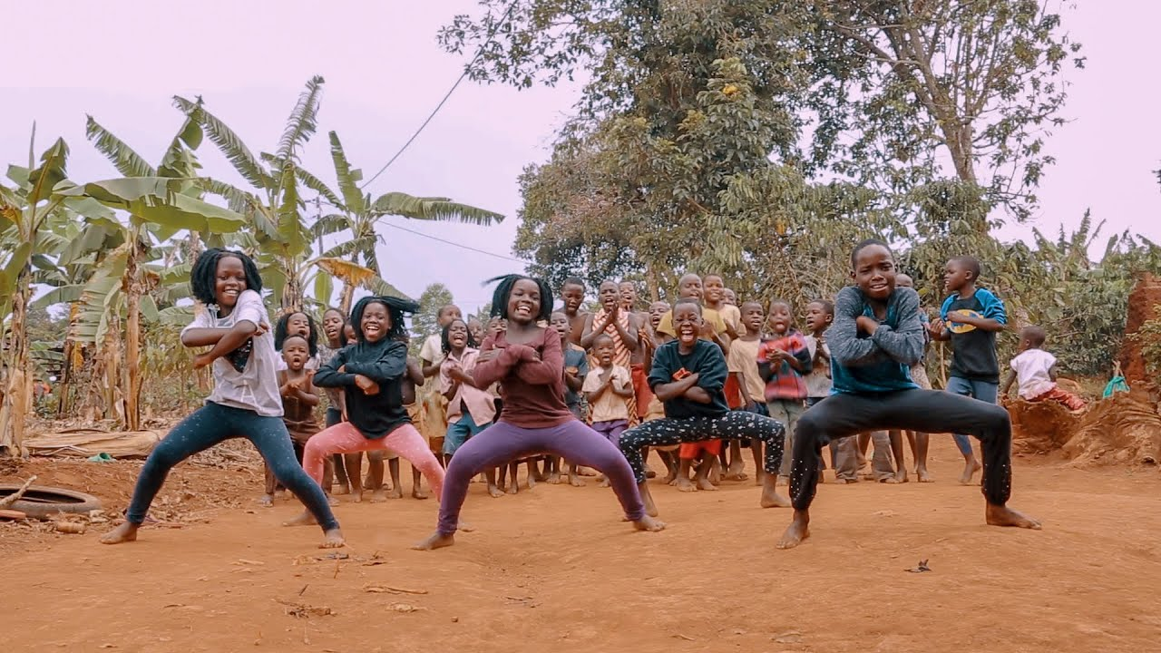 Masaka Kids Africana Dancing Unity In The Community [Official Dance Video]