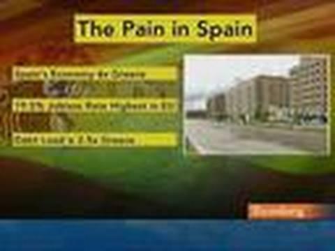 Spain's Debt Woes, Unemployment Raise Concern: Video