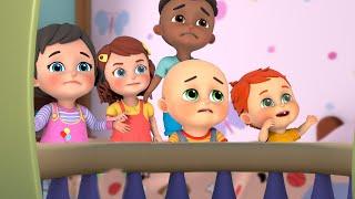 Rain Rain Go Away (Kids playing at home) | Jugnu Kids Nursery Rhymes and Baby songs for Kindergarten