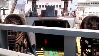 Travessia de balsa Sicília/Calábria - Itália 2015