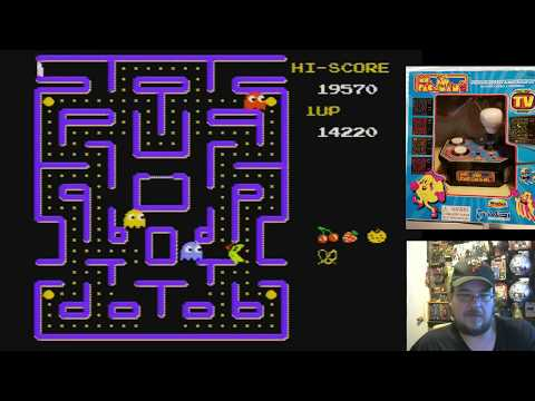 Ms. Pac-Man (MSI Entertainment/WinFun Version) Plug & Play TV Game Game Play