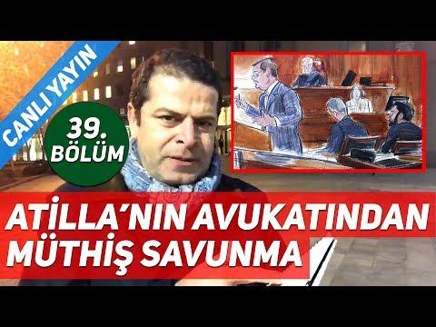 Rıza Sarraf (Reza Zarrab) Davası'nda Hakan Atilla'nın Avukatından Müthiş Savunma!