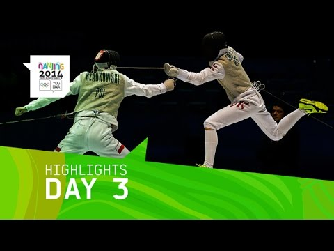 Best of Day 3 | Nanjing 2014 Youth Olympic Games