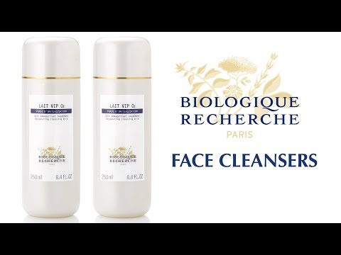 Biologique Recherche Face Cleansers. Which formula is best suited for your skin?