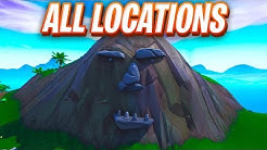 visit a giant face in the desert the jungle and the snow fortnite map location duration 3 07 - all giant face locations in fortnite