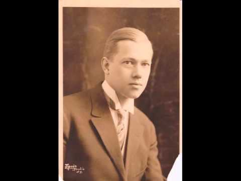 American Baritone Reinald WERRENRATH:  My Lovely Celia (1929)