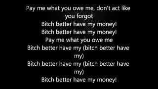 Better have my money - Rihanna Video