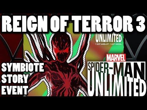 """""""Reign Of Terror 3"""" Symbiote Story Event - TurkeyPlays! Spider-Man Unlimited Gamepla3"""