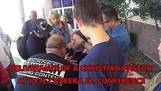 CHRISTIAN PASTOR BEING DELIVERED BY PETE CABRERA'S CREW AT HIS CONFERENCE