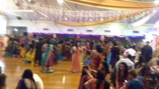 Auckland Gandhi hall garba 2014 part 1