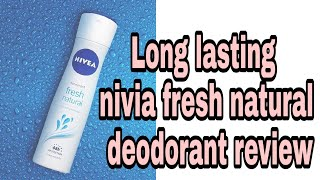 Nivia fresh natural deodorant review mild fragrance deodorant review affordable deodorant for girls