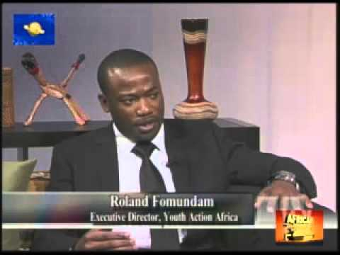 Roland Fomundam on the African News Network in New England