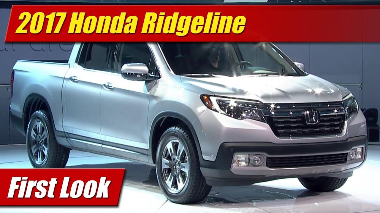 2017 Honda Ridgeline First Look