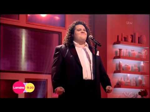 Jonathan Antoine on Lorraine (10/10/14)  sings Love Changes Everything