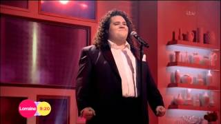 Jonathan Antoine on Lorraine (10/10/14)  sings Love Changes Everything