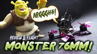 LANCHI Monster 76mm - MONSTER POWER! - Review & Flight