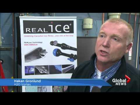 Environmental Ice Surface  / Global Okanagan News 22.1.2014