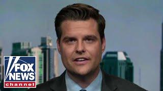 Gaetz: Trump was taking up Ukraine's cause, not threatening them
