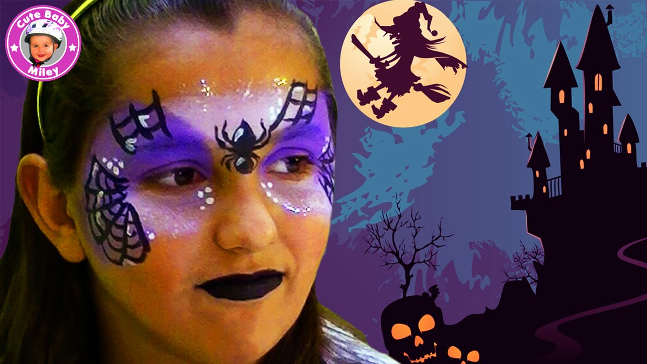 schminken als hexe f r halloween kinderschminken tutorial makeup kinderkanal youtube