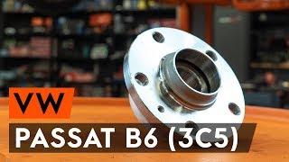 Montaż ożysko piasty koła tył i przód VW PASSAT: instrukcje wideo
