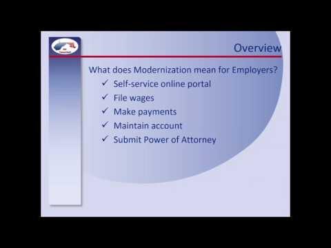 Presentation To MD Employers Regarding Unemployment Insurance Modernization