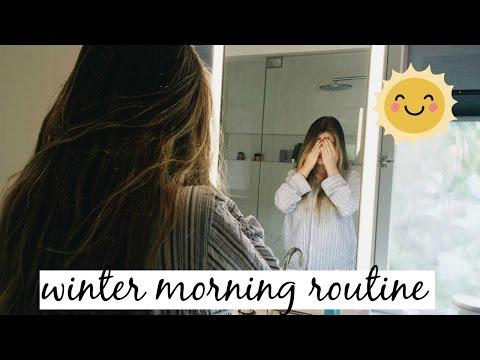 WINTER MORNING ROUTINE 2016: VLOG STYLE l Olivia Jade
