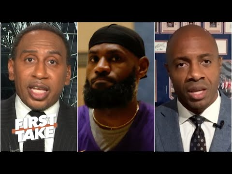 Discussing LeBron's stance on not wearing a social justice message on his jersey | First Take