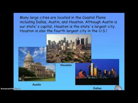 Regions Of Texas Map 4th Grade.Regions Of Texas Tour Youtube