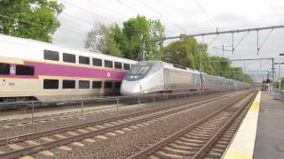 Acela Express Overtakes MBTA in Attleboro!