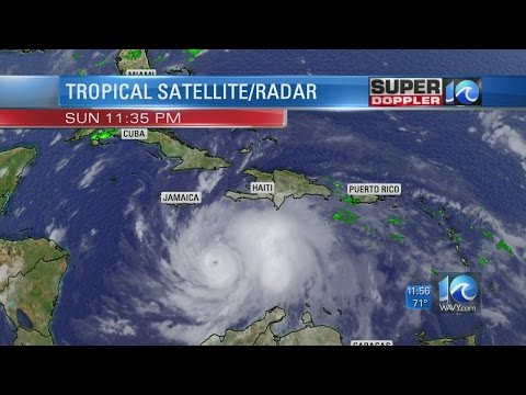 Dangerous Hurricane Matthew