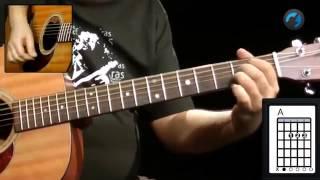 Blind Melon No Rain como tocar aula de viol o e guitarra