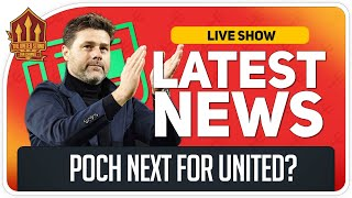 Poch To Replace Solskjaer? Man Utd News Now