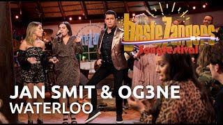 Beste Zangers Songfestival: Jan Smit & OG3NE zingen Waterloo
