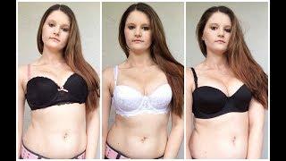 (18+) SEXY BRA TRY ON HAUL | VIKAMENABEAUTY