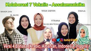 Download Kolaborasi 7 Vokalis - Assalamualaika Versi 4 Bahasa (Arabic, Albanian, Indonesia, Inggris)