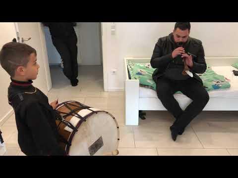 Yegenlerim ile... Davulda  Kudbeddin ve Boran Drums