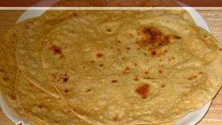 Roti, Chapati (Flat Indian Bread) Recipe by Manjula