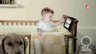 Santé -  Écrans chez les enfants : attention danger !