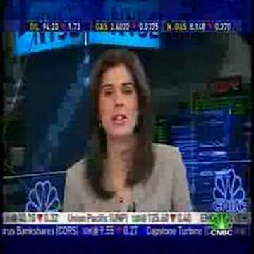 Erin Burnett slips in an opinion on Citigroup
