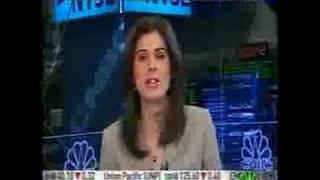 Erin Burnett slips in an opinion on Citigroup