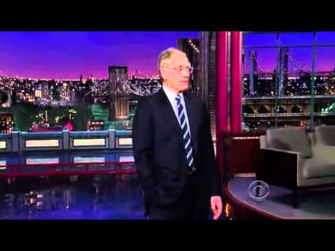 David Letterman 08/02/2011 Part1of4 Late Show with Adam Sandler