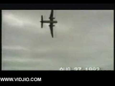 Horrible Plane Crash