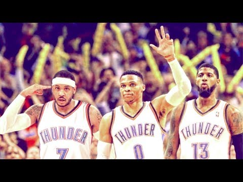 OKC Thunder NEW BIG 3 Mix (Westbrook, PG, Melo) -