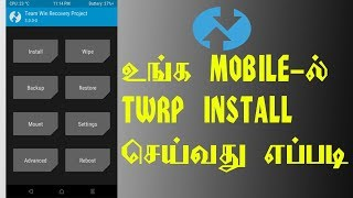How To Install TWRP  On Any Android Phone Without Root (with pc) - TAMIL