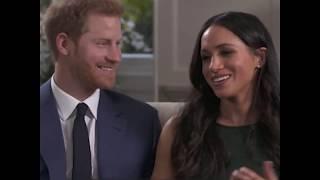 príncipe Harry e Meghan Markle falaram sobre como se conheceram
