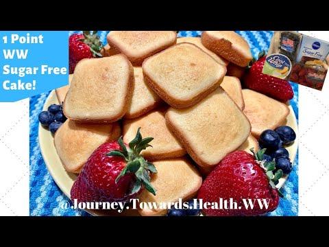 WW Sugar Free Cake! 1Point! Weight Watchers